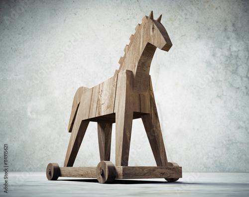 Fotografija  Trojanisches Pferd