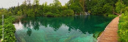 Fototapety, obrazy: Plitvice lakes park in Croatia