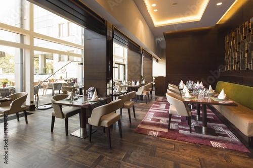 Modern restaurant interior part of a hotel u kaufen sie dieses
