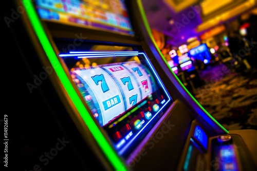 Foto  Kasino-Spielautomaten