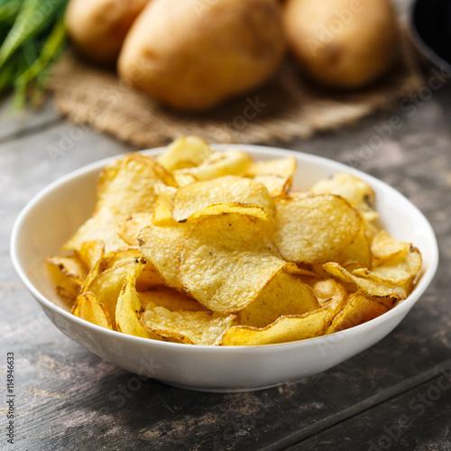 Fotografía  Kesselchips - Kettle cooked crisps