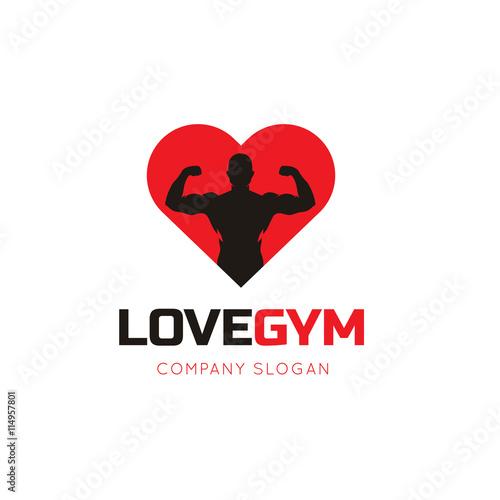 Fitness Logogym Logolove Fitness Symbol Brand Identity For Sports