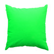 Leinwanddruck Bild - green  pillows isolated on white background