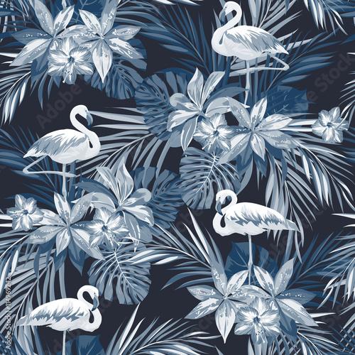 indigo-tropikalny-lato-wzor-z-ptakow-flamingo-i-egzotycznych-kwiatow