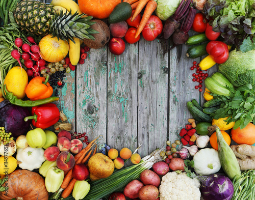Keuken foto achterwand Groenten Healthy food background