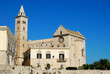 View of the Romanesque church of Trani in Apulia - Italy