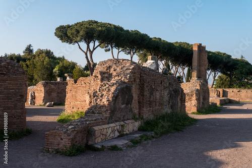 Fotografia, Obraz  Palatin in Rom - einer der sieben Hügel Roms