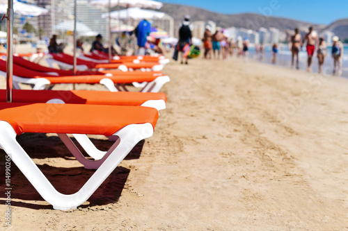Photo  San Antonio Beach in Cullera, Spain