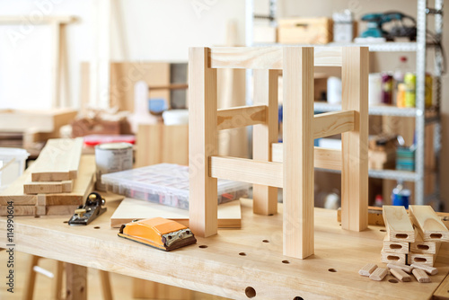 Fotografia, Obraz Furniture making craft