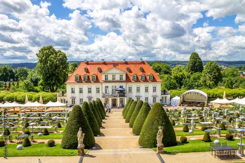 Fotomural  Schloss Wackerbarth