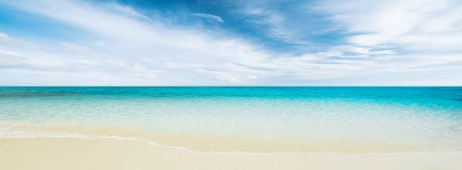 Fototapeta Tropical beach and ocean