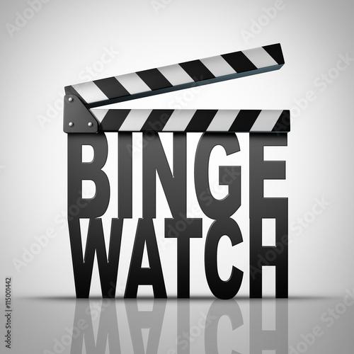 Binge Watch Fototapet