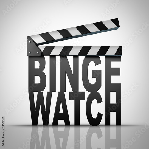 Binge Watch Tablou Canvas
