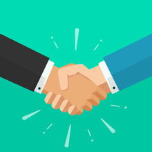Shaking Hands Business Vector ...