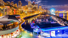 Downtown. Night Seattle From P...
