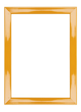 Orange Frame Abstract Background Has Clipping Path
