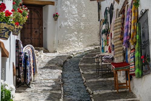 Street in Alpujarra, Granada, Spain