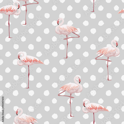 rozowy-flaminga-bezszwowy-wzor