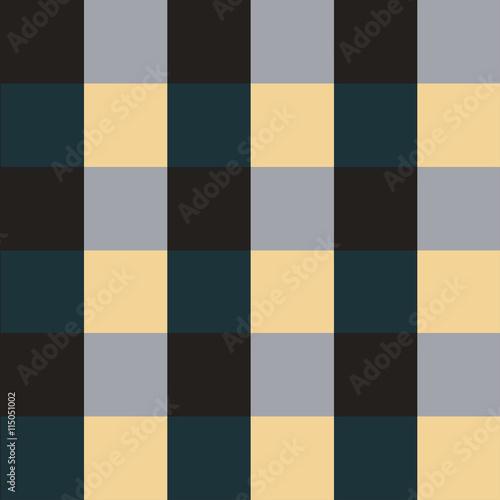 Green Violet Chess Board Background Vector Illustration - 115051002