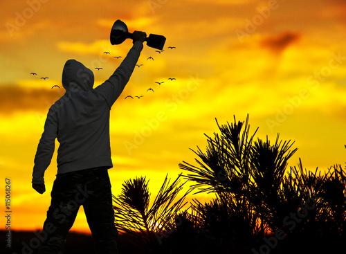 Fotografía  El hombre ganadro