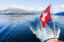 ルツェルン湖の船旅(スイス)