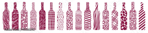 wine-bottles-abstract-vector