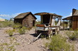 Wild West Wheels and Carts eroding in the Desert heat of Nevada.