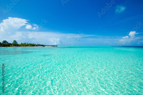 fototapeta na ścianę tropical beach in Maldives