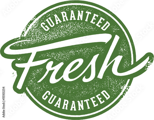 Guaranteed Fresh Product Label