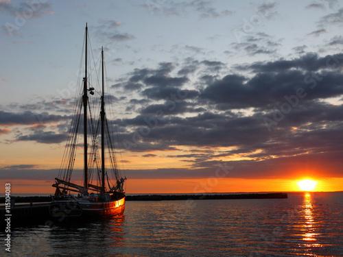 Fotografía  Abendstimmung in Bagenkopauf der dänischen Insel Langeland