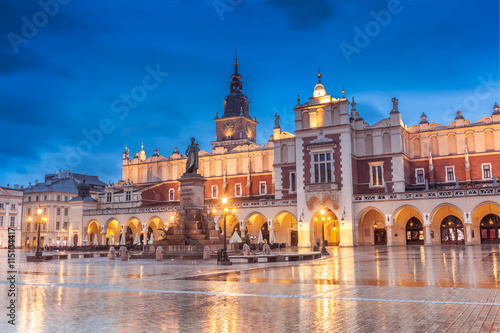 Photo sur Aluminium Cracovie Krakow Old Town