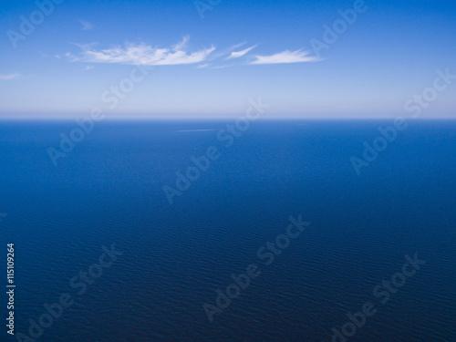 Poster Mer / Ocean Seascape aerial view