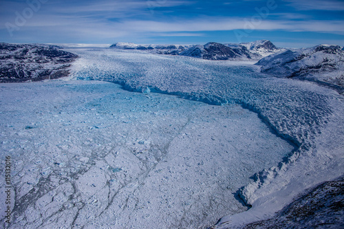 Fotografie, Obraz  Greenland gletcher