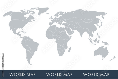 World map vector with countries buy this stock vector and explore world map vector with countries gumiabroncs Gallery