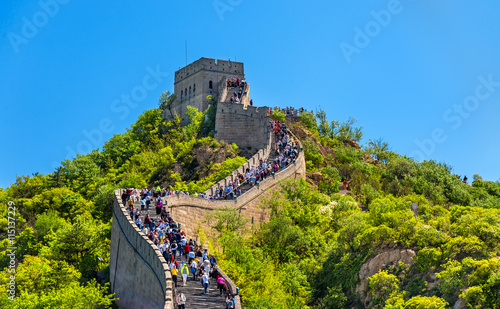 Foto auf Gartenposter Beijing The Great Wall of China
