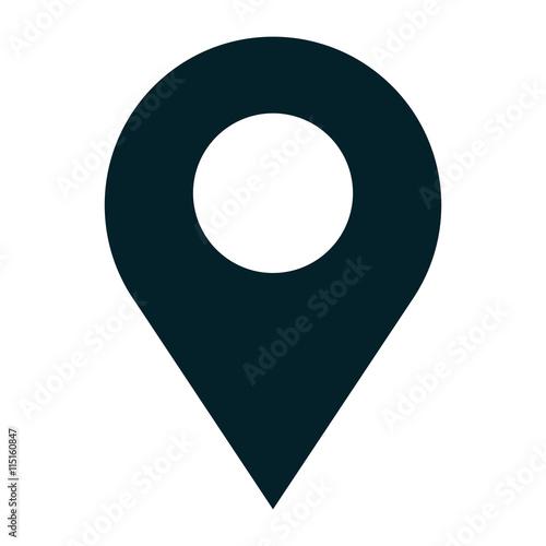 Orienteering equipment isolated icon, vector illustration graphic design Fototapete
