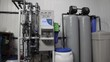 Equipment for water purification. General view of water production