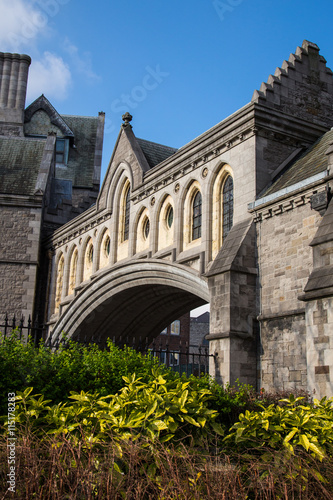 Photo  Christchurch Cathedral in Dublin City, Ireland