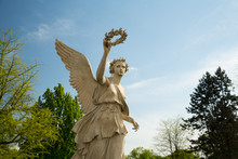 A Statue In The Grounds Of Wilanow Palace In Warsaw, Poland