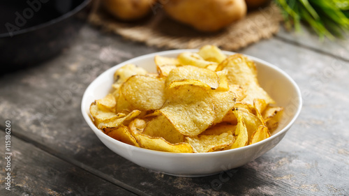 Fotomural Kesselchips - Kettle cooked crisps