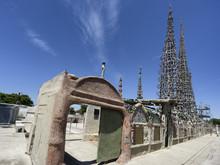 Watts Towers In Los Angeles, C...