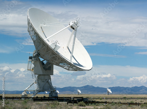 Fotografie, Tablou  VLA (Very Large Array) - a group of radio telescopes in New Mexico (USA)