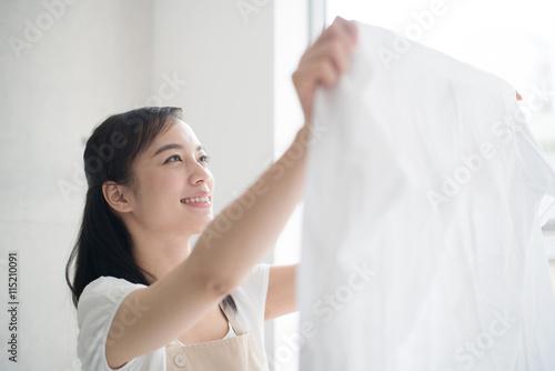 Fotografía  洗濯する女性