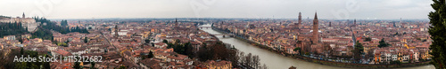Fotografie, Obraz  Panorama di Verona