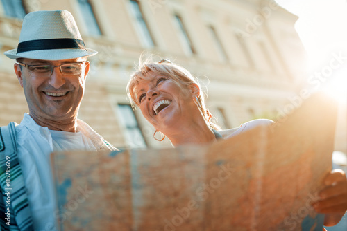 Fotografia  Couple of tourists