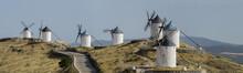 Don Quixote Windmill Panorama, Consuegra, Castile-La Mancha, Spain