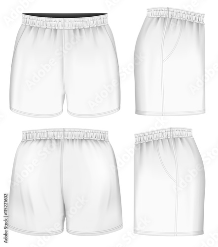 Obraz Rugby vector shorts - fototapety do salonu