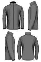 Men Softshell Jacket Design Te...