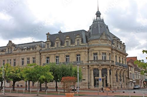 Foto auf AluDibond Bahnhof Vitry-le-Francois, France
