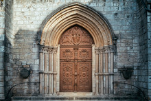 Old Door Of Basilica Of St. Jo...